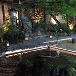 Jardín zen del hotel