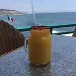 Mango Margarita with Tamarind Rim