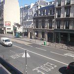 Rue Lafayette from our room