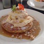 Butterscotch Macadamia Pancakes - so good!