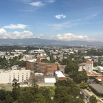 Best Hotel Room in Guatemala City for view and facilities.