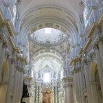 Austere interior when compared with contemporaries