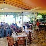 Peroulia Beach Restaurant 1984 Foto