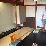 Usual Japanese style room - the staff put your bedding down on the tatami floor