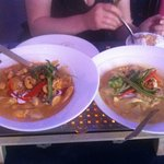 Chicken Massaman & Chicken Yellow Thai Curry