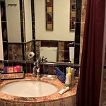 I loved the fact that the owners that had resisted a full bathroom update! It is Florence after