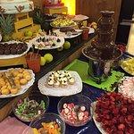 Buffet desserts, soirée dessert