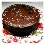Cafe Fergus signature ganache