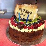 Trevor's 70th Birthday Cake