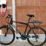 Secure bike shed.