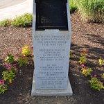 Gettysburg address plaque