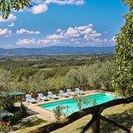 Piscina della Villa Montagna per 16 ospiti