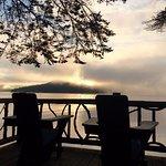 Sunrise from Buck cabin Lake Placid Lodge