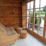 90°C See-Sauna