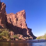 Views while kayaking the Salt River