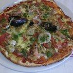 pizza du mois fruits de mer persillade