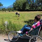 """En route pour la randonnee seulement """" les accessibles"""" comme le chemin des amoureux de Puicerda"""