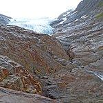Photo de The Svartisen Glacier Austerdalsisen