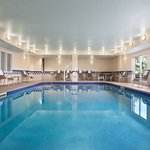 Spend time with family or getting in a workout at our heated indoor pool.