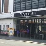 Yates from the outside