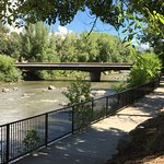 Animas River Trail behind the hotel