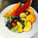 L'assiette de fruits frais (à partager à 2)