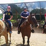 After your ride the guides can take a photo of your group on your horses! Too cool!