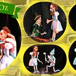 """""""The Wizard of OZ""""  NOW - September 3rd.  TUES, FRI & SAT @ 11 AM.  ALL TICKETS:  $10  CALL: 717"""