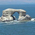 Foto aumentada de la imponente Portada de Antofagasta