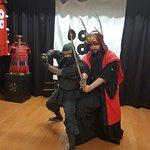 Samurai Worrier vs. Ninja
