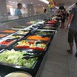 Comedor, lineales de la comida