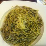 And for the simple pasta pilgrams, the pesto is perfecto.
