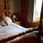 The beautiful four poster bed