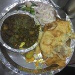 Signature dish... Chole bhature