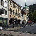 Bergen YMCA Hostel from the street