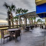 Ocean Front Patio Myrtle Beach