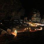 Camp bei Nacht