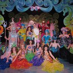 "Cast of the ""Disney's Little Mermaid"" musical, now playing at the Pagosa Springs Center for the"