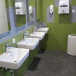 Neue Sanitäreinrichtungen