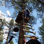 Long climb up