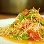 Som Tum - green papaya salad