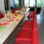 Lounge und Bar-Bereich