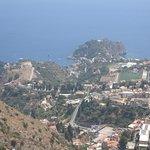 La vista del alteza del CastellMola
