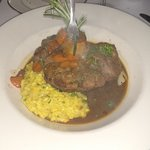 Osso Bucco with risotto