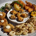 Our famous Seafood platter.
