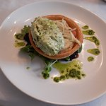 SALMON & SPINACH MOUSSE TART