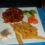 Delicious food and lovely people  - Mexican chicken