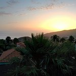 Sunset from your villa terrace
