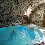 Piccola ma deliziosa piscina del centro benessere