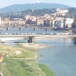 Vistas al puente Vecchio desde la habitación